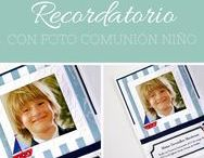 RECORDATORIO COMUNION NIÑO