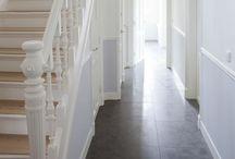 Stairways, Landings & Hallways
