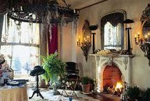For the Home >>Interiors<< / Eclectic. Homely. Inviting. Cozy. Peaceful. Vibrant. Imagination. Escape. Love. / by Lisa