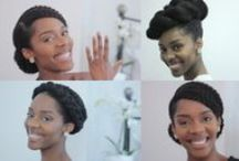 . My Kinda Hairstyles . / Playing with hairstyles, as you do!