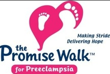 Promise Walk and Preeclampsia / The Promise Walk for Preeclampsia™ supports the mission of the Preeclampsia Foundation as we provide patient support and education, raise public awareness, catalyze research and improve health care practices for millions of mothers and their babies every year who are impacted by preeclampsia and related hypertensive disorders of pregnancy. www.promisewalk.org / by Finnegan and The Hughes