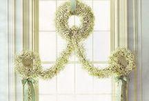 Just Wreaths / by Rachel Ostrander