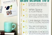 Web design | Fonts / Best blog design practices, fun fonts and more.
