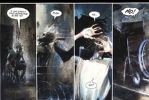 sequential  / panel by panel, telling stories. Visually.