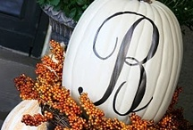 Fall Holiday Decorations / by Denver Realtor | Olivia Maddox