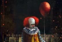 Clowns-- Creepy, Scary Clowns