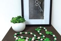 St. Patrick's Day / Adding the luck of the Irish with décor, DIY & recipes.