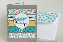 Stampin up cards / Handmade cards using Stampin' Up products / by Beth Sant