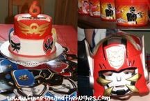 Power Ranger Birthday Party / by Finnegan and The Hughes