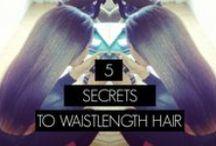 H A I R C A R E  T I P S / Healthy Hair Tips / by LoveYourTresses