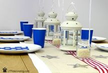 Independence Day (July 4th) / Star spangled décor ideas, recipes & more.