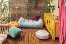 For the Home >>Outside<< / Eclectic. Homely. Inviting. Cozy. Peaceful. Vibrant. Imagination. Escape. Love... Outside / by Lisa