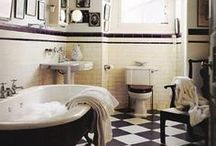 For the Home >>Bathroom<< / Eclectic. Homely. Inviting. Cozy. Peaceful. Vibrant. Imagination. Escape. Love... Bathroom / by Lisa
