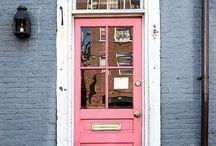 Doors / Old doors, new doors.  Wood doors, glass doors.  Simple doors, famous doors.  Oddly shaped doors and more.  / by Alannah Newcomer