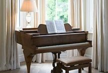 Pianos / Vintage and restored pianos / by Denver Realtor | Olivia Maddox
