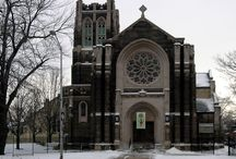 Episcopal Churches / Exterior and interior views of Episcopal churches located in the USA / by Anne Middleton