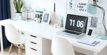 Home Office / Simple ways to change your home into a comfortable office