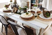 Occasions: FALL Holidays / Craft projects and ideas for arranging your space for Halloween and Thanksgiving festivities