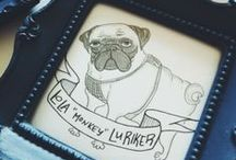 pug. / by Roxanne Coble // By Bun