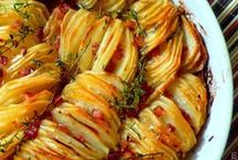 Potato Tornado! / Casseroles, side dishes and other lovely potato-oriented recipes. / by Sarah Marie Bee