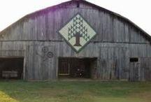 Quilts and Barns  / Barn quilts and barn quilt trails  / by Sandy Rubin