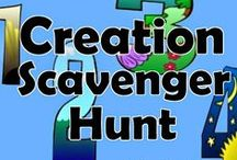 Bible Topic: Creation / Crafts/Lessons based upon the seven days of creation / by Karen Jensen