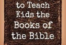 Bible Topic: Books of the Bible / Crafts/Lessons to learn all the books of the Bible / by Karen Jensen