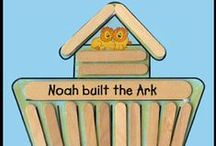 Bible Character: Noah / Crafts/Lessons based upon the life of Noah in the Bible / by Karen Jensen