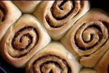 cinnamon rolls + pastries / basically, breakfast sweets