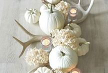 fall & thanksgiving inspiration / autumn/fall inspired homr decoration ideas, seasonal activities and party inspiration