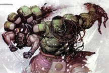 Comic Hero's & Villans  / Any Comic persona art work thats fun and exciting  / by Alex Gonzalez
