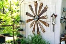 Creating my Garden / neat gardening idea's / by Vickie Johnson
