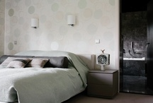 Beds, Bedheads and Furniture / Hotel to home inspiration for achieving wow factor bedrooms with oversized headboards, beautifully dressed beds and the perfect bedside furniture