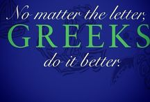 GO GREEK! / by Nika Cervantes-Valentin