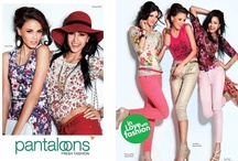 Pantaloons A/W 2012 Campaign / Fashion Brand Campaign Produced By Limelight  / by LIMELIGHT INDIA