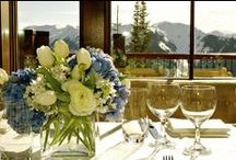 Winter Flowers and Decor / Wintertime is when we most need fresh color in our homes!