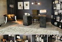 Charcoal & Khaki Office