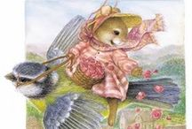 Susan Wheeler / At the heart of Holly Pond Hill is artist Susan Wheeler. Her enchanting watercolour paintings capture the beauty and romance of Victorian times.