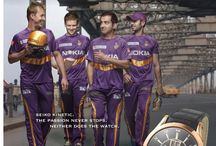 Seiko Campaign | Kolkatta Knight Riders / Watch Campaign Featuring Gautam Gambhir | Brett Lee | Eoin Morgan | Sunil Narine | Manoj Tiwary | Produced By Limelight.  / by LIMELIGHT INDIA