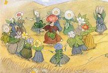 Ernst Kreidolf / Ernst Kreidolf (1863–1956) was a Swiss painter largely known for illustrating children's books about flower fairies.