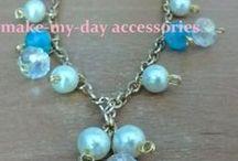 handmade faux bijoux / http://makemydayaccessories.blogspot.gr/