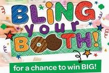 Bling Your Booth / When it comes to cookie booths, plain is boring so grab your friends and Bling. Your. Booth! A place to gather ideas for Bling Your Booth Contest.