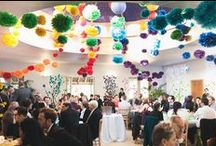 The Hilarium - Reception Space / The Hilarium, our 12m x 12m light and airy reception space provides a wonderful space for your reception.