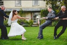 Wedding Fun / We're always interested in how people involve their guests and make them fun...here are a few ideas...
