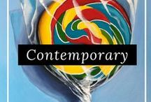 Contemporary Art / Discover the latest contemporary art from our talented artists around the world, only on FineArtSeen. Enjoy the Free Delivery.