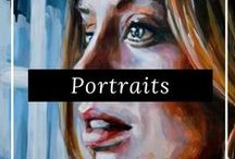 Portraits & Figurative Art /  Discover the latest original portraits from our talented artists around the world, only on FineArtSeen. Our collection contains original paintings and drawings and limited edition fine art photography. Enjoy the Free Delivery.