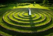 Wedding Spiral / Our wedding spiral is the perfect place for wonderful photos, amongst the 28 acres of Kingscote Park, where you and your guests can wander to your heart's content.
