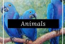 Animal & Wildlife Art /  Discover the latest animal inspired art from our talented artists around the world, only on FineArtSeen. Our curated collection includes birds, lions, squirrels, dogs, cats and more. Find the perfect gift for an animal lover. Enjoy the Free Delivery.