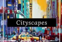 Cityscapes - London, New York, Paris and More / Discover the latest cityscapes inspired by cities from London to Paris to New York and more with art from our talented artists around the world, only on FineArtSeen. Enjoy the Free Delivery.