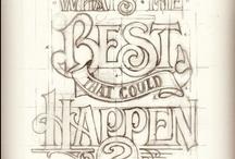 hand written letters...2 / by BeeHappy ...